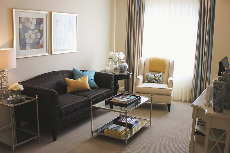 The Suite Life - Spacious. Bright. Convenient. Secure. Thoughtfully designed. Beautifully appointed.