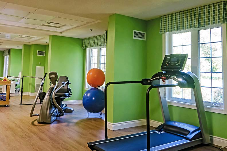 V!VAfit Strength & Stretch Studios - Featuring easy-to-use, state-of-the-art fitness equipment specifically designed for older adults, our V!VAfit studios are a great place for our group classes too!